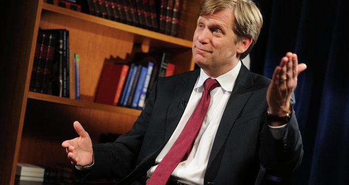 Ex ambasciatore USA in Russia Michael McFaul