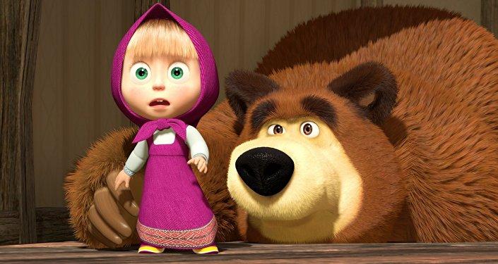 Quot petaloso è russo matteo ispirato da masha e orso