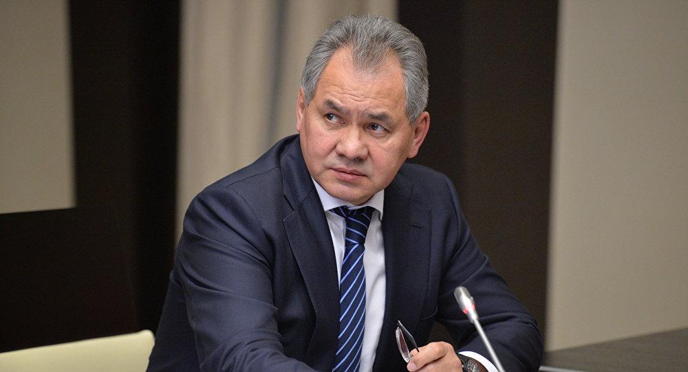 Ministro della Difesa russo Sergey Shoigu