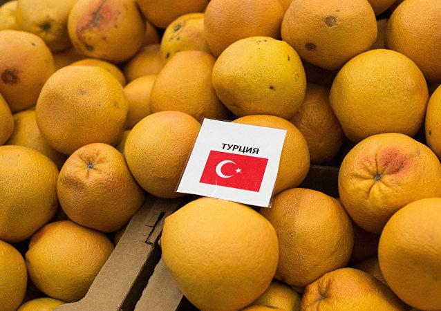 Frutta dalla Turchia