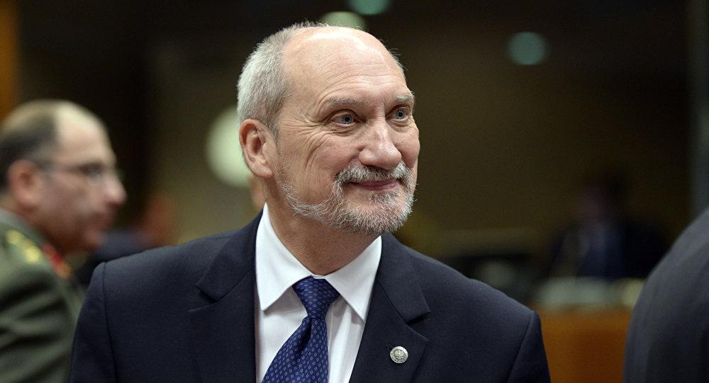 Ministro della Difesa della Polonia Antoni Macierewicz
