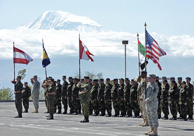 Il partenariato NATO per le manovre della pace