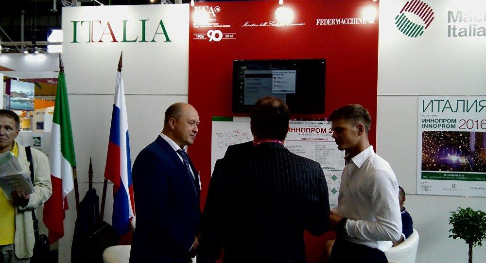 Contatti italo-russi ad INNOPROM 2016