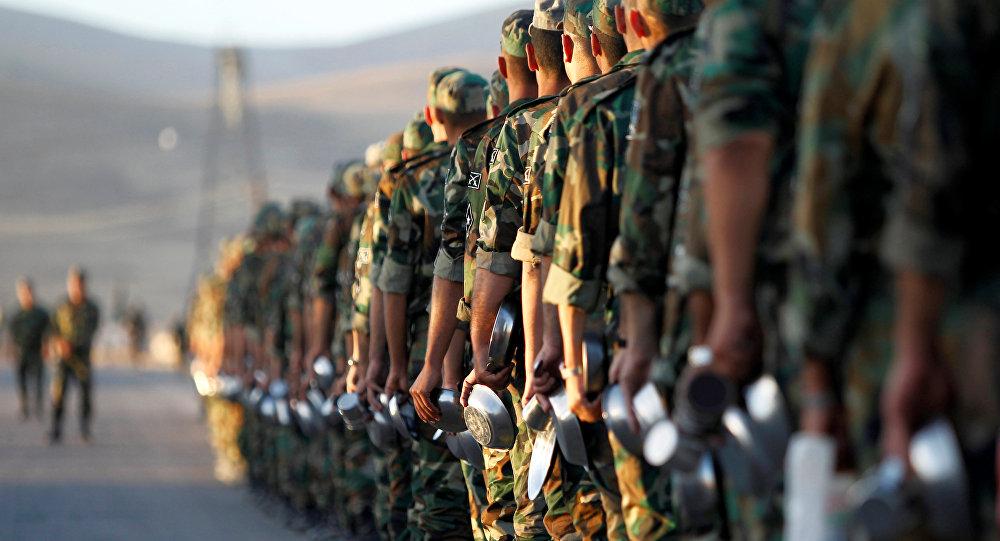 Esercito siriano a Damasco (foto d'archivio)