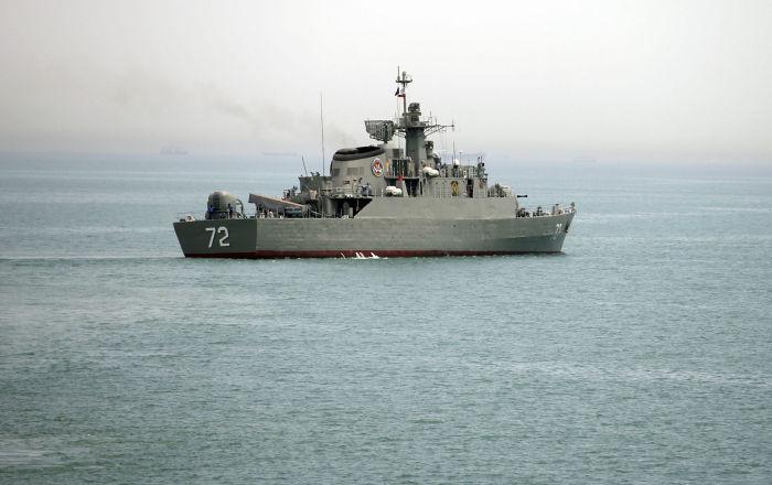 Flotta iraniana nello Stretto di Hormuz (foto d'archivio)