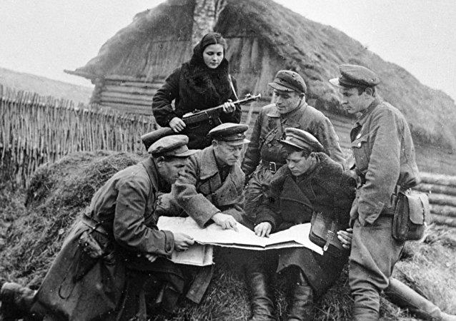 Partigiani sovietici nella Seconda Guerra Mondiale