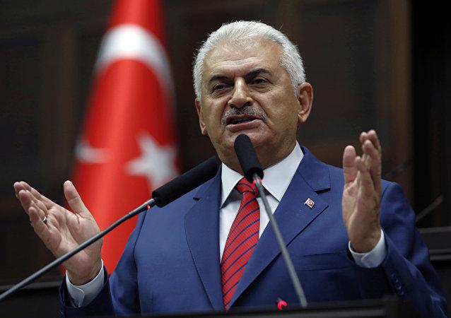 Primo ministro della Turchia Binali Yildirim