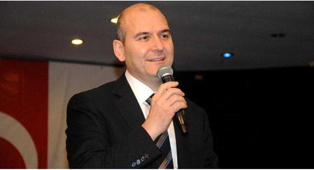 Ministro del lavoro e delle politiche sociali turco Süleyman Soylu