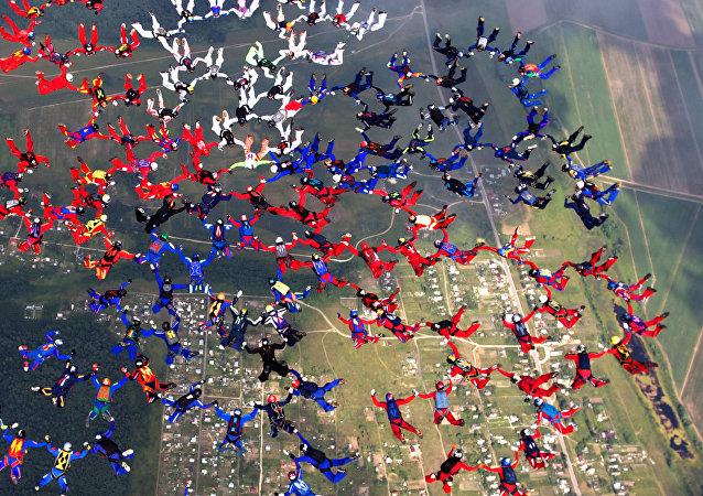 I campionati del mondo di paracadutismo