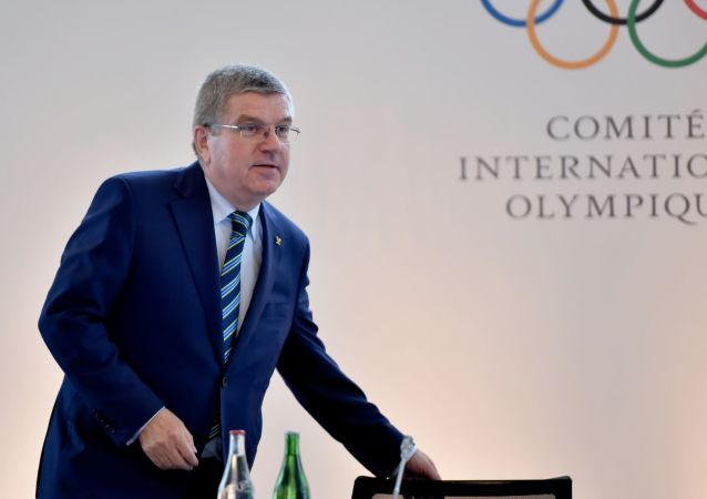 Presidente del CIO Thomas Bach