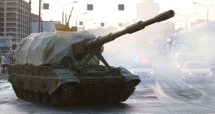 Prove del 29 aprile, in attesa della grande parata della Vittoria, che si terrà in Piazza Rossa il 9 maggio