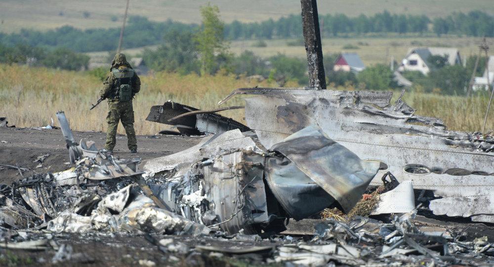 Donbass, rottami Boeing della Malaysia Airlines