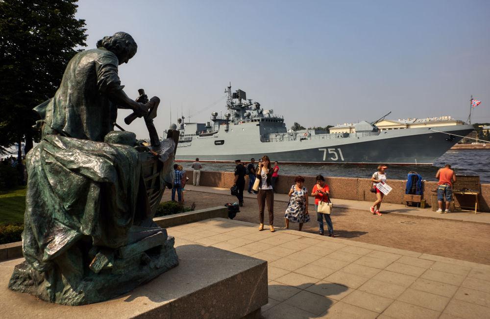 Tutto pronto per la Giornata della Marina Militare russa
