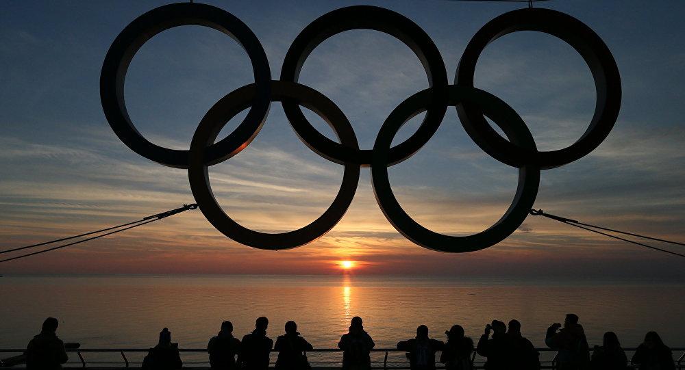 Il logo dei Giochi Olimpici