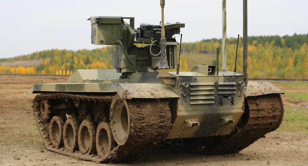 Il robot da combattimento Nerekhta-2