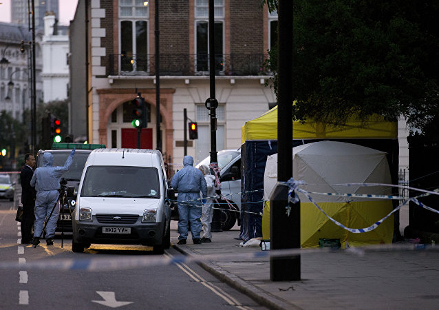 Russell Square a Londra dopo l`assalto