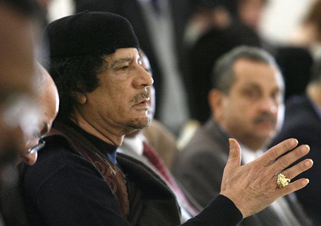 Muammar Gheddafi