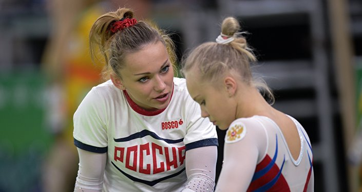 Allenamenti a Rio per le ginnaste russe