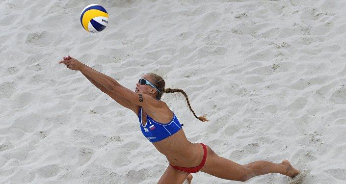 Anastasia Barsuk, pallavolista russa del beach volley