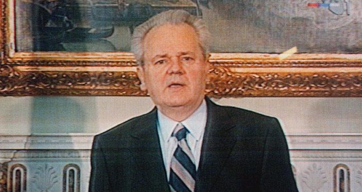 Slobodan Milosevic, l'ex presidente della Serbia e della Jugoslavia