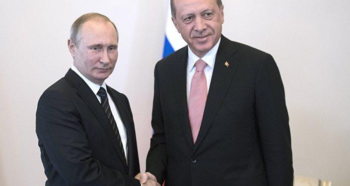 Incontro tra Vladimir Putin e Recep Tayyip Erdogan