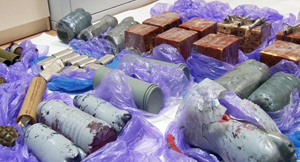 Bombe a mano e mine confiscate ai terroristi fermati in Crimea