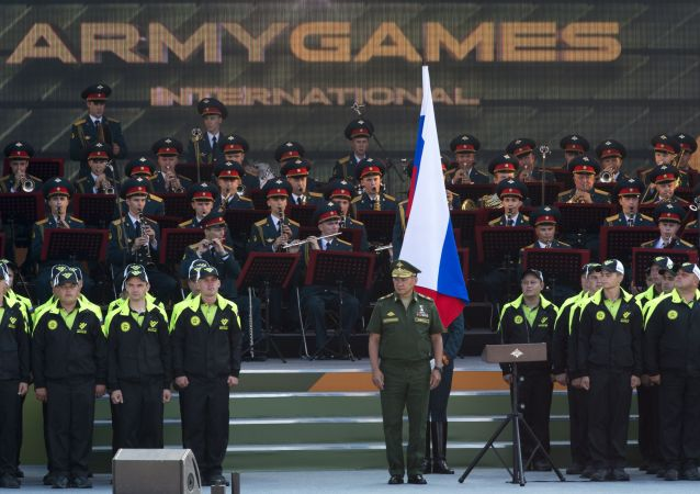 Apertura Giochi Militari Internazionali