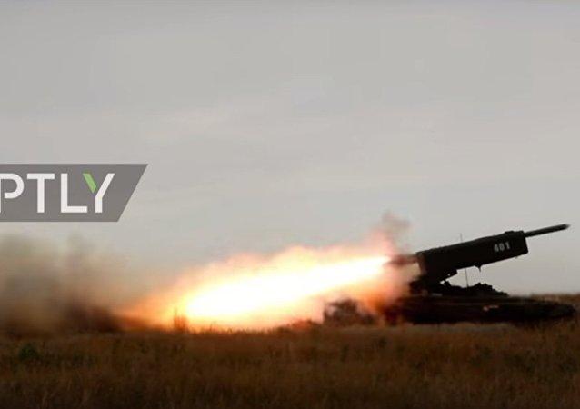 Lanciarazzi multiplo TOS-1 A