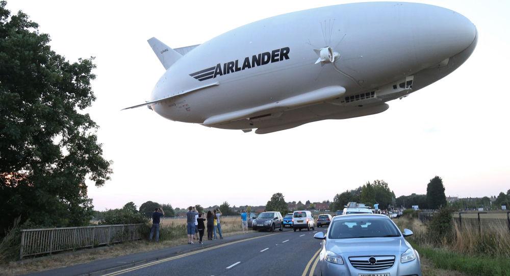 Il velivolo ibrido Airlander 10