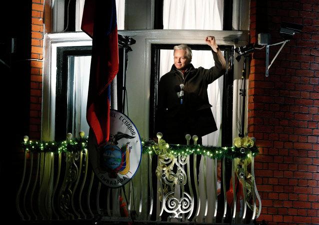 Ambasciata dell'Eduador a Londra