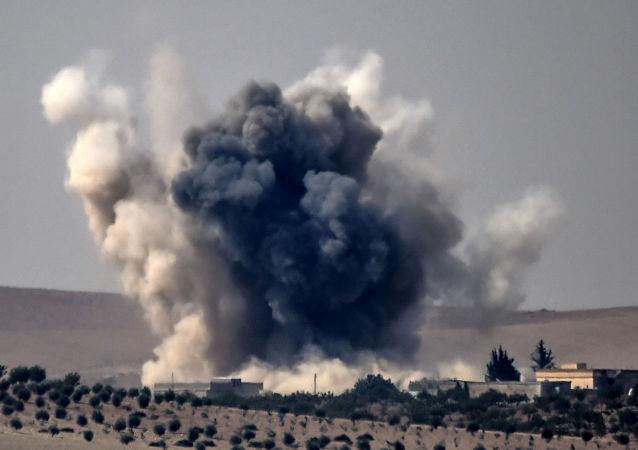 Ankara lancia un'operazione militare in Siria.
