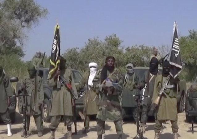 I guerriglieri nigeriani del gruppo terroristico Boko Haram.