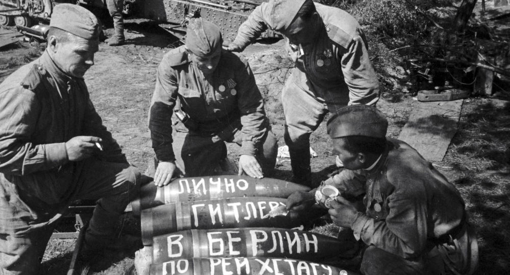 Soldati sovietici durante la Seconda guerra mondiale.