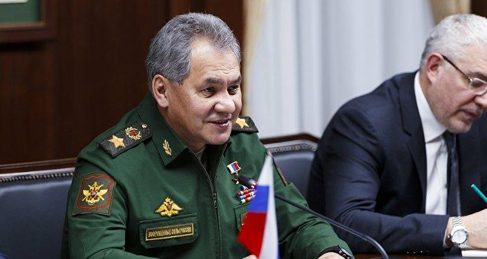 Ministro della Difesa russo Sergei Shoigu