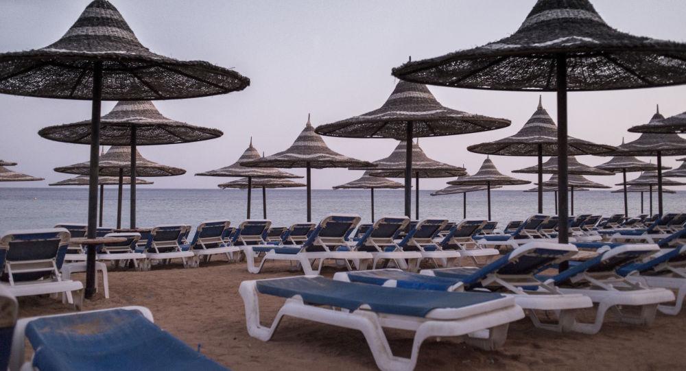 Spiaggia deserta a Sharm el Sheick
