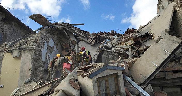 Dopo il terremoto ad Amatrice