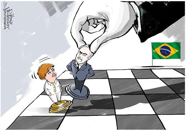 Il parlamento del Brasile vota contro Rousseff
