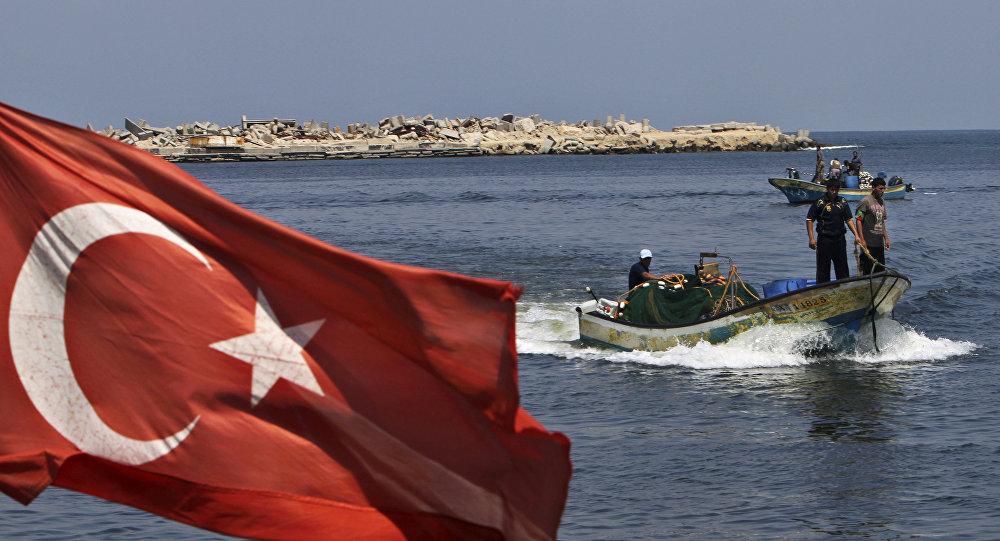 La bandiera della Turchia