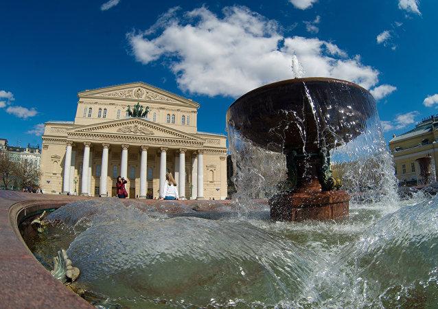 Il teatro Bolshoi di Mosca
