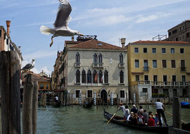 Una vista di Venezia