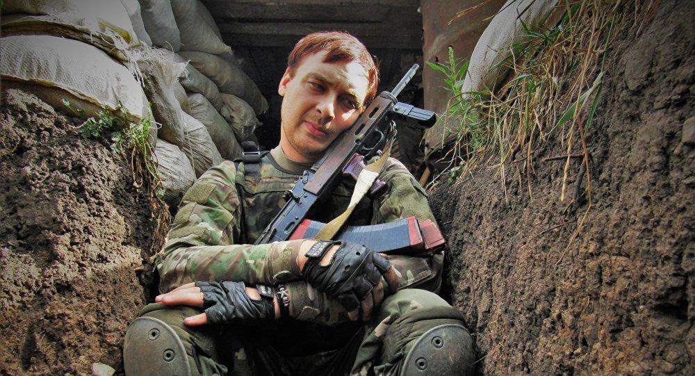 Un soldato in trincea