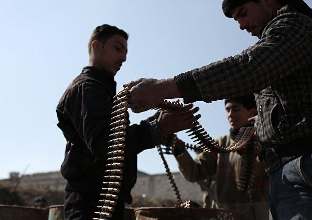 Jihadisti dell'opposizione armata anti-Assad
