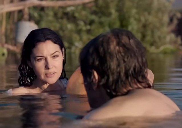 Monica Bellucci ed Emir Kusturica
