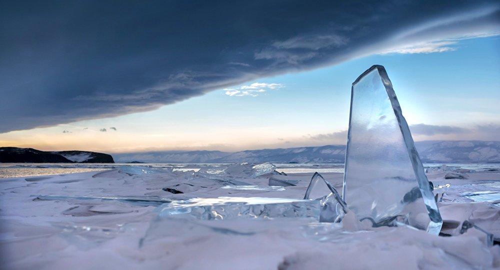 Cielo al Lago Bajkal