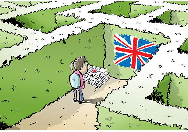 Gran Bretagna vuole costruire un muro contro migranti