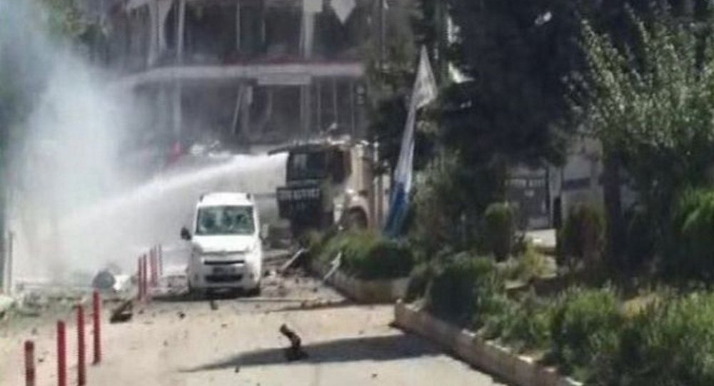 Esplosione nella città turca di Van