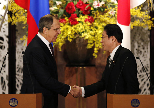 Incontro tra Sergey Lavrove e Fumio Kishida