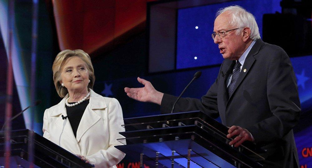 Bernie Sanders ed Hillary Clinton