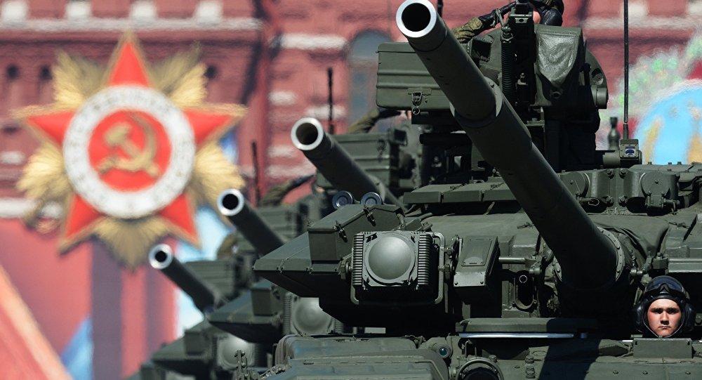 Il carro armato T-90 alla Parata Della Vittoria