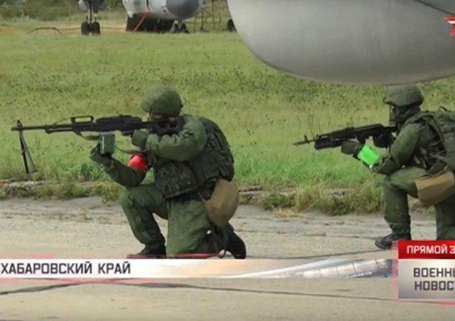 Manovre anti terroristiche delle forze speciali
